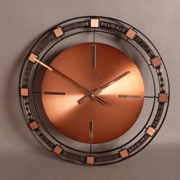 Kienzle vintage copper wall...
