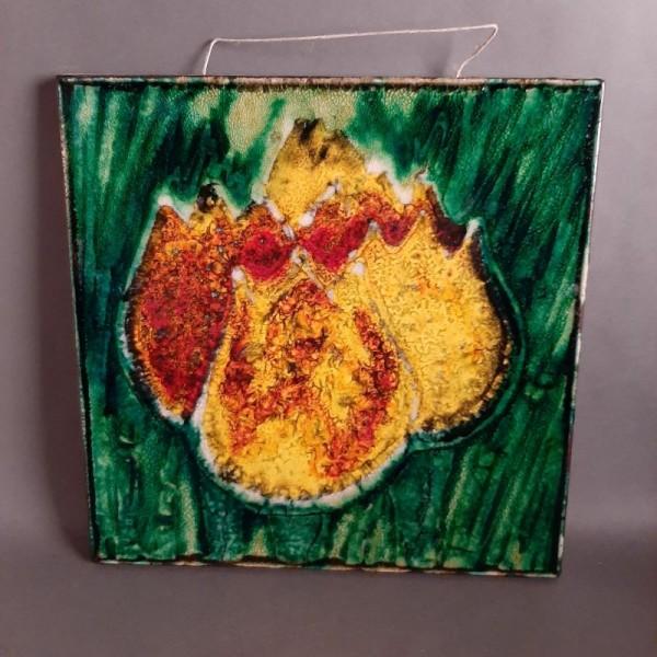 Vintage Keramik Wandfliese...