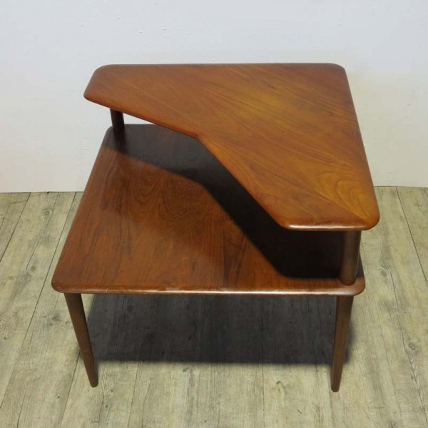 Teak Side Table by Peter...