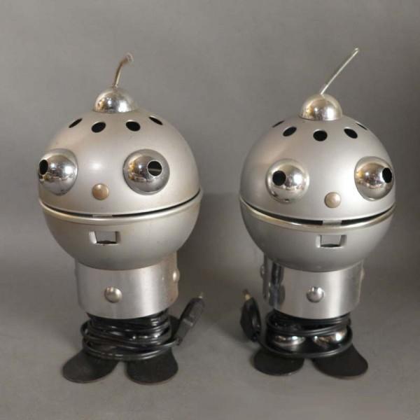 Zwei Design Roboter...