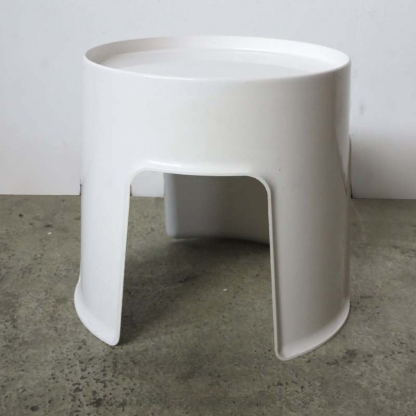 French Plastic Stool from...
