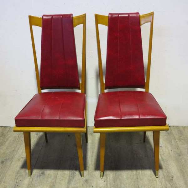 Two Art Deco Side Chairs....