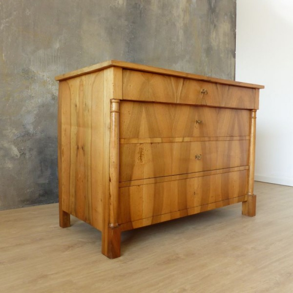 Biedermeier chest with four...