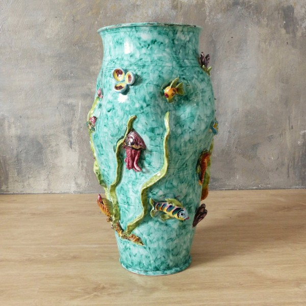Ceramic Vase from Vietri...