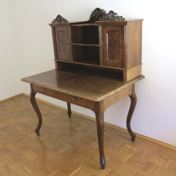 Antique carved desk in very...