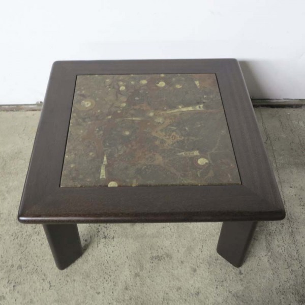 Fossil Side Table by Heinz...