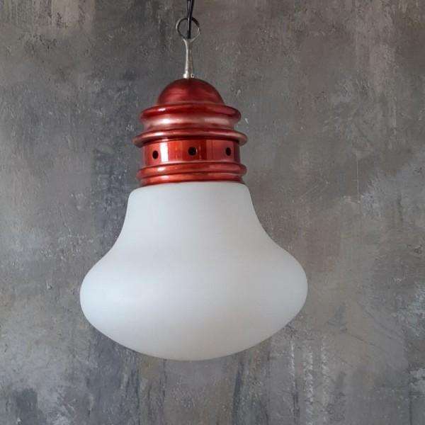 Italian Glass Bulb Pendant...