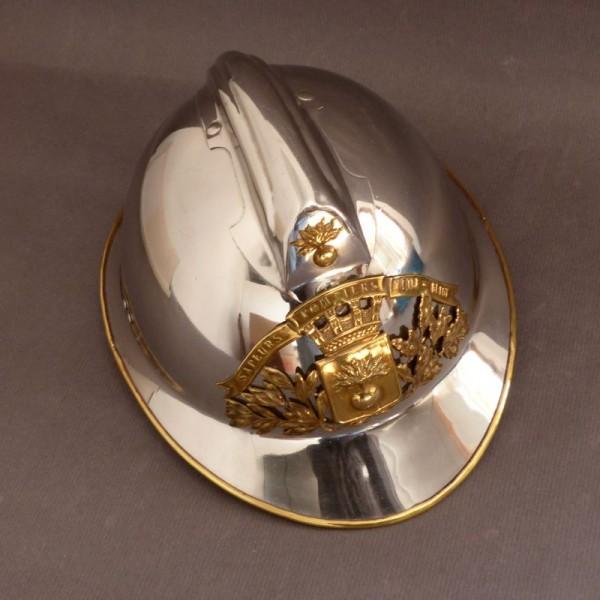 Firefighter Helmet Chrome....