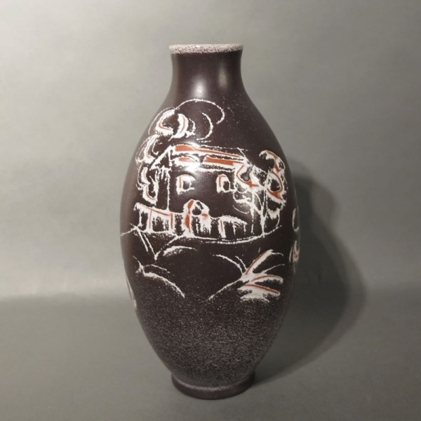 Ceramic vase from the...