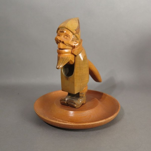Wooden nutcracker with a...