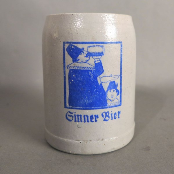 Beer mug from the Sinner AG...