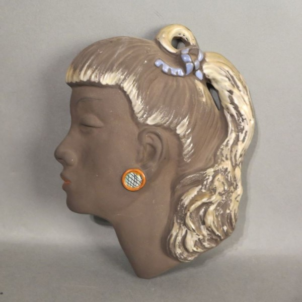 Vintage wall mask from the...