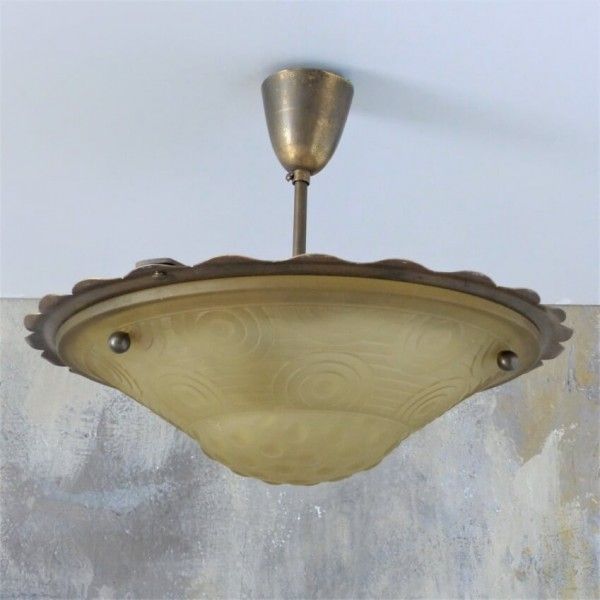 Art Deco ceiling lamp made...