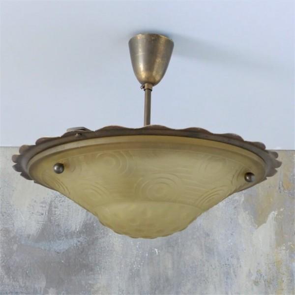 Art Deco Deckenlampe aus...