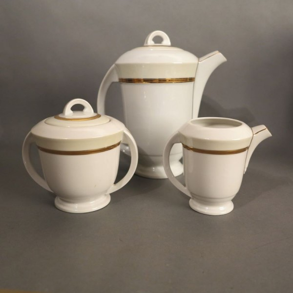 Art Deco porcelain tea...