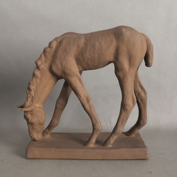 Ceramic foals from the...