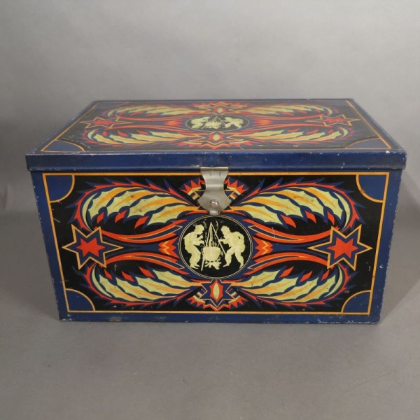 Art Deco coffee tin from...