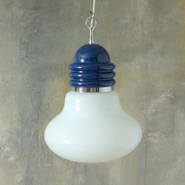 Lámpara de techo de cristal...