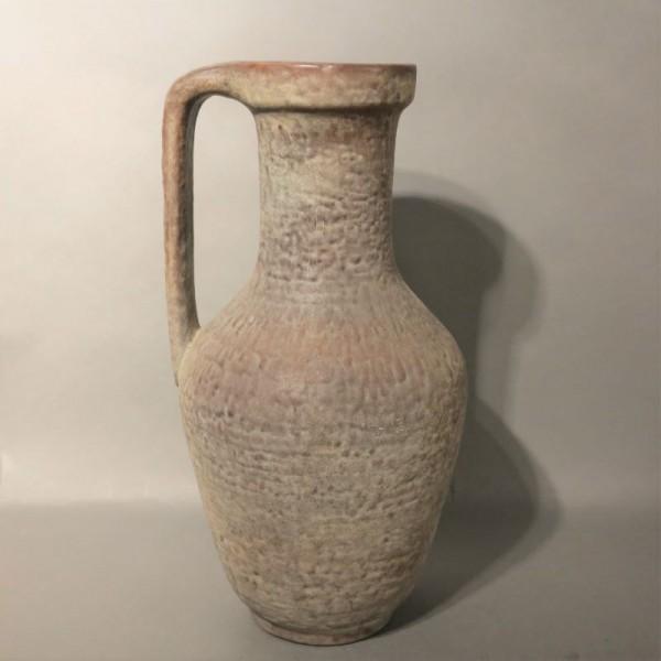 Florero de cerámica con asa...