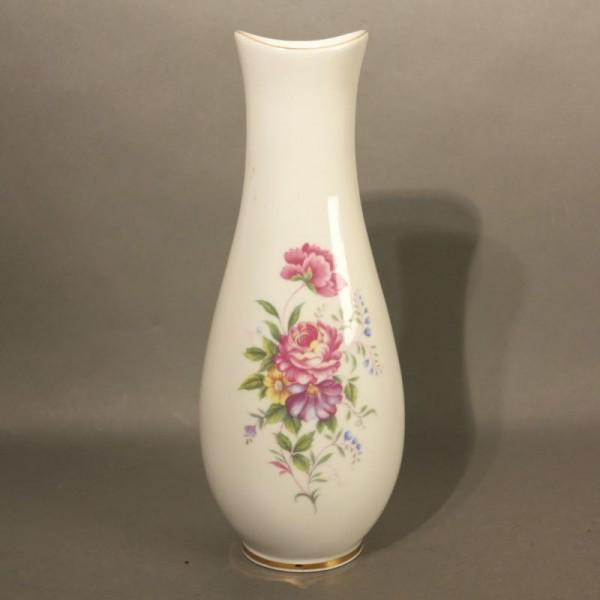 Porcelain vase with floral...
