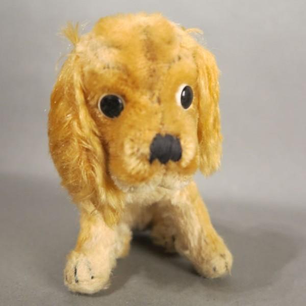 Vintage Hund von Steiff....