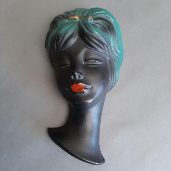 Vintage gypsum wallmask....