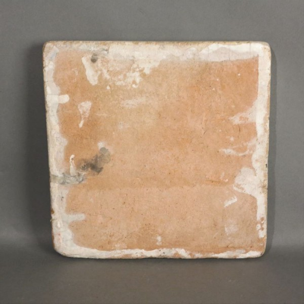 Azulejo de cerámica antiguo...