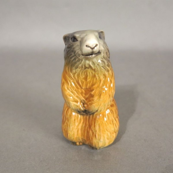 Porcelain figure marmot by...