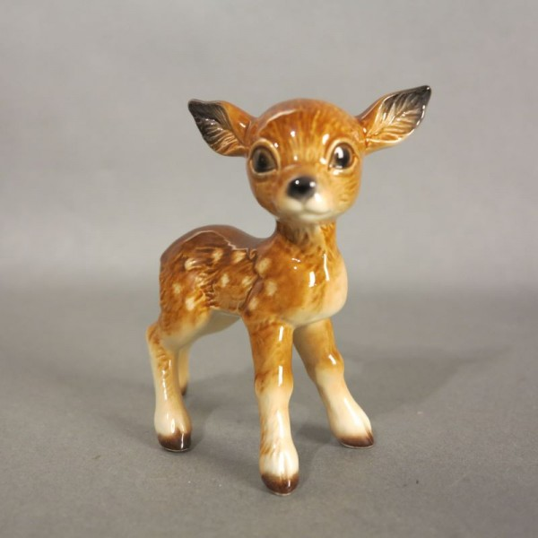 Porcelain figure deer by...