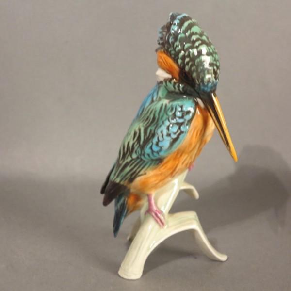 Porzellan Figur Eisvogel...