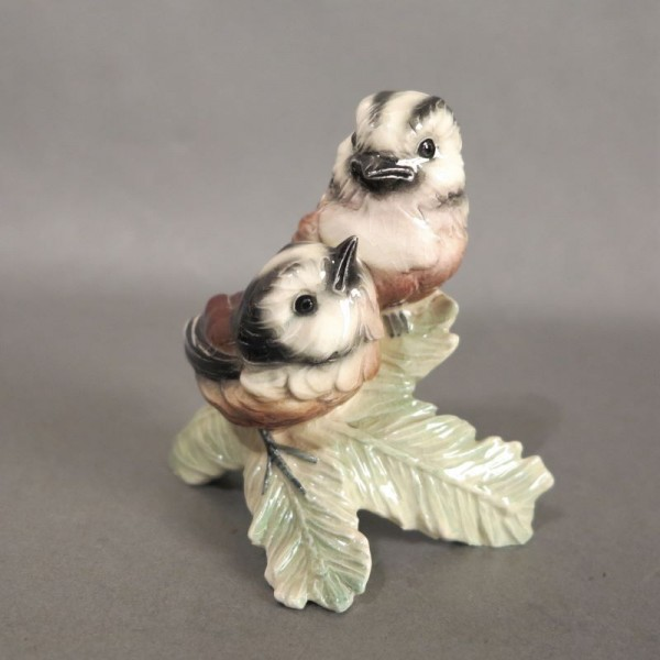 Porcelain figure tailed tit...