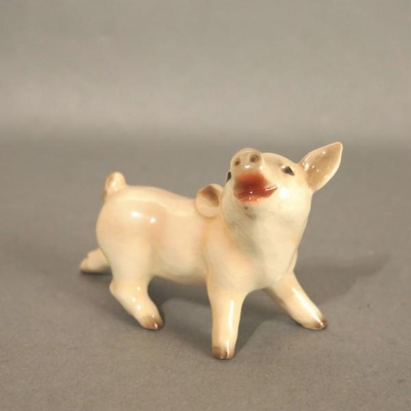 Porzellan Figur Hausschwein...