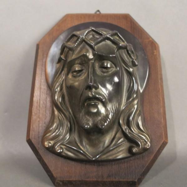Christus Messing Relief auf...
