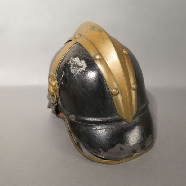 Pickelhaube or fire helmet....
