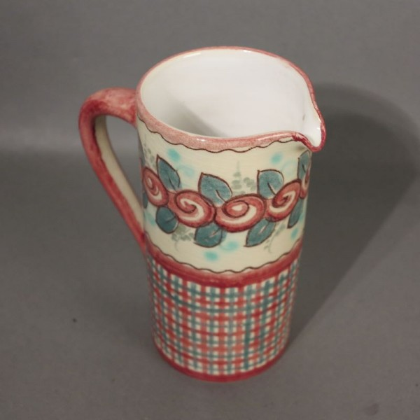 Hand painted ceramic jug....