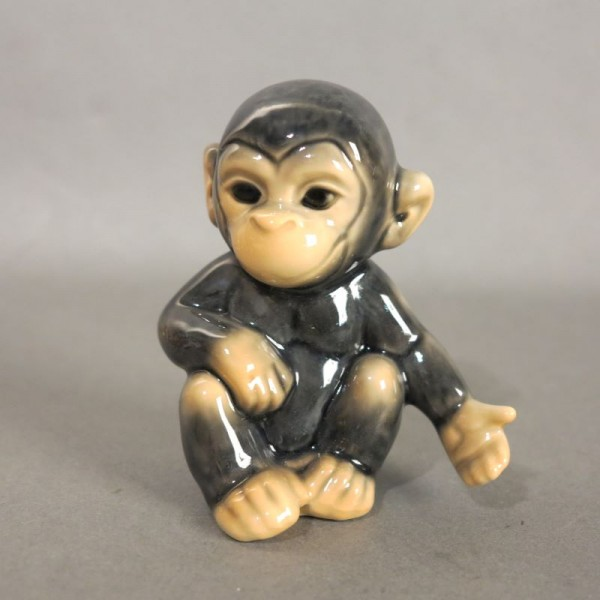 Porcelain figure monkey by...