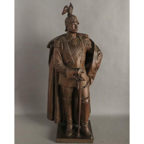 Bronze figure Kaiser...