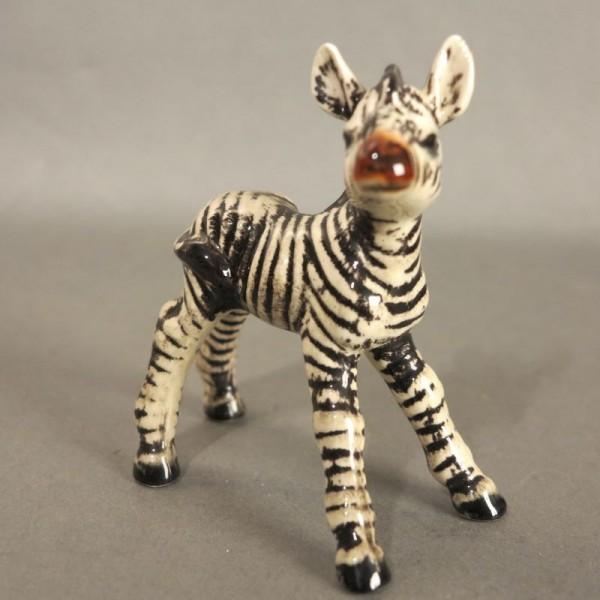 Porcelain figure zebra by...
