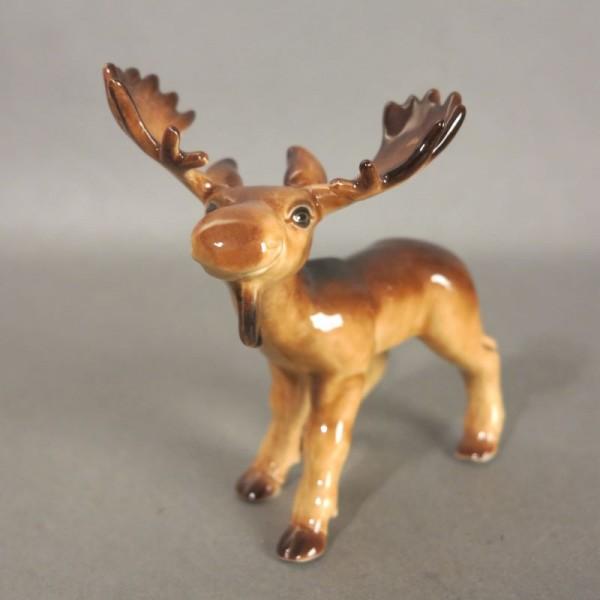 Porcelain figure elk by...