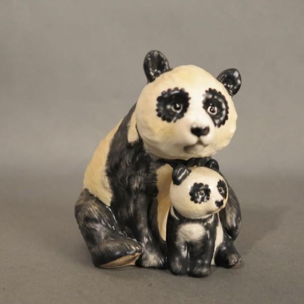 Porcelain figure panda by...