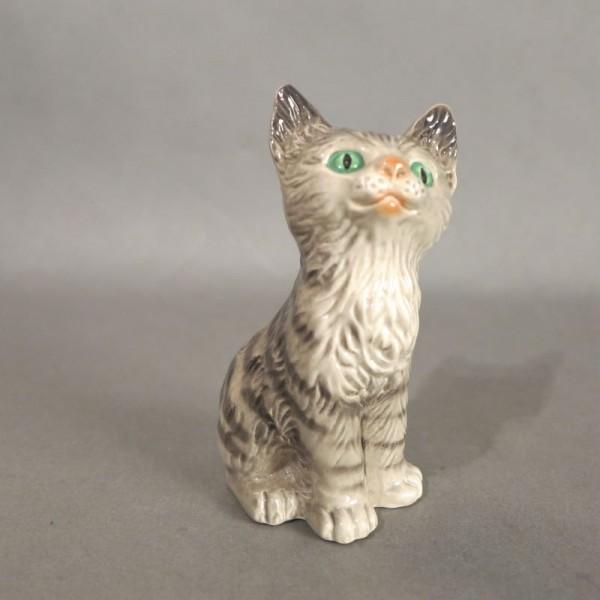 Porzellan Figur Katze von...