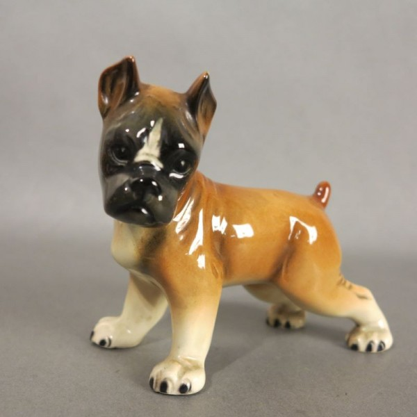 Porcelain figure Boxer by...