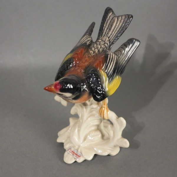 Porzellan Figur Vögel von...