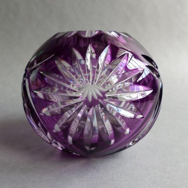 Violet lead crystal vase by...