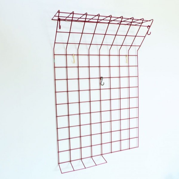 Wire wall coat rack by Karl...