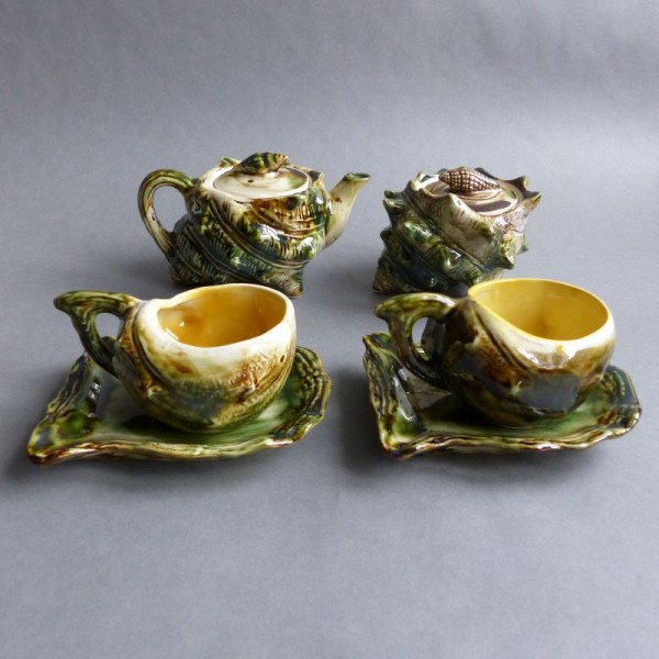 Vintage ceramic seafood tea...