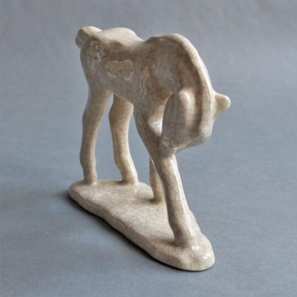 Keramik Figur der Majolika...