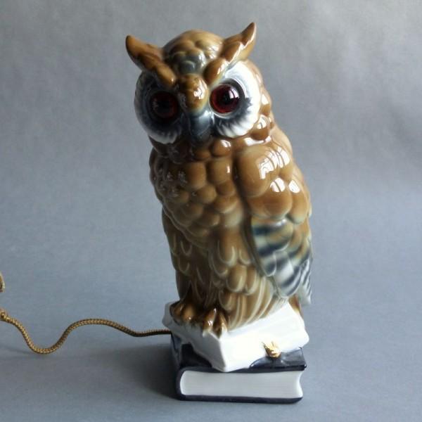 Porcelain smoke eater owl....