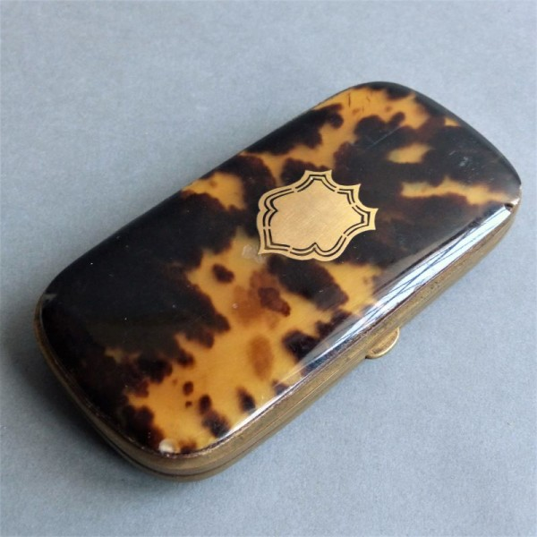Antique glasses case. 1900...