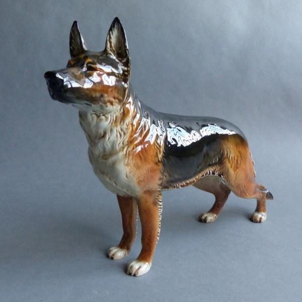 Porzellan Figur Schäferhund...